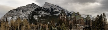 Banff Springs Hotel Panoramic